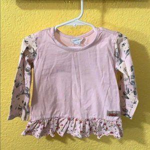 Naartjie Girls Long Sleeve Shirt